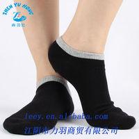 Combed Cotton Socks Men, Athletic Boat Invisible Sneaker, Sheer Ankle Socks