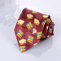 Animal Pattern Silk Printed Necktie Wholesale Neckties