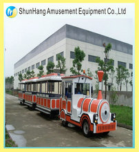 outdoor and indoor amusement ride electric train kiddie ride land train tour train