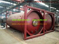 LPG Tank Container transport liquid ammonia, liquid sulfur dioxide, propylene,ISO ASME manufacturer for sale:86-15271357675
