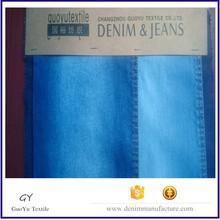 denim checked fabric
