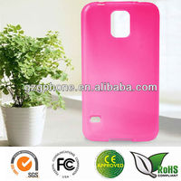 TPU soft back case for Samsung Galaxy S5 cover