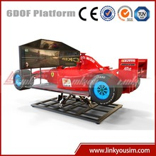 China Playground Equipment Factory Direct Sale simulator 2 dof/simulator 3d 4d 5d games with high speed