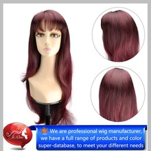 Top Selling Festival Fancy High Quality Two Toned Synthetic Wig, Women Fashion Synthetic Wig, Good Quality Wigs
