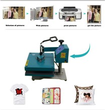 Top quality Rotary multi-function t shirt printing machine Heat Transfer Sublimation Heat Press Machine