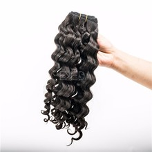 Asian hair large stock deep wave cheap raw virgin hair