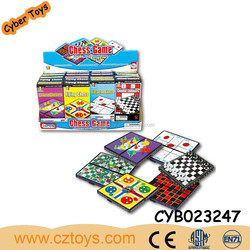 education toys magnetic International flight and snake ladder and checkers and western and tic-tac-toe