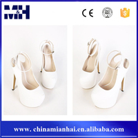NEWEST HOT PARTY EMBOSSED 16CM HIGH HEELS LADIES FASHION HOES