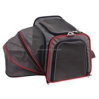 Hot dog carrier bag Large expandable space pet bag outdoor travel dog carrier bag