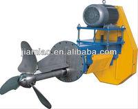 SS304/ SS316L blade mixer, Pulp tank Mixer, Liquid mixer with belt driver