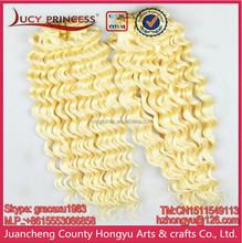 Beautiful Russian hair, Curly Human Hair extensions 613 Blonde Hair piece, european hair