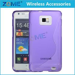 China Supplier Mobile Phone Case,Slim S-Line Back Flexible Cas Soft Skin Tpu Case Cover For Samsung Galaxy S2/9100