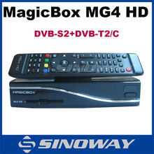 2015 Newest TV Receiver MAGICBOX MG4 HD DVB-S2/T2/C multi smartcard reader triple tuner receiver