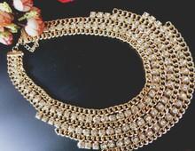 2015 hot sexy ladies fashion temperament diamond necklace