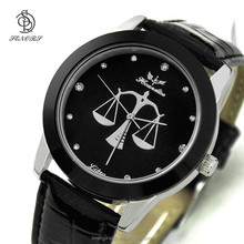 2015 hot sales new fashion alloy watch High-grade Waterproof Quartz Men's Military Genuine PU wrist Watch
