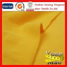 Huzhou customizable high quality double sided anti pill polar fleece fabric 400gsm