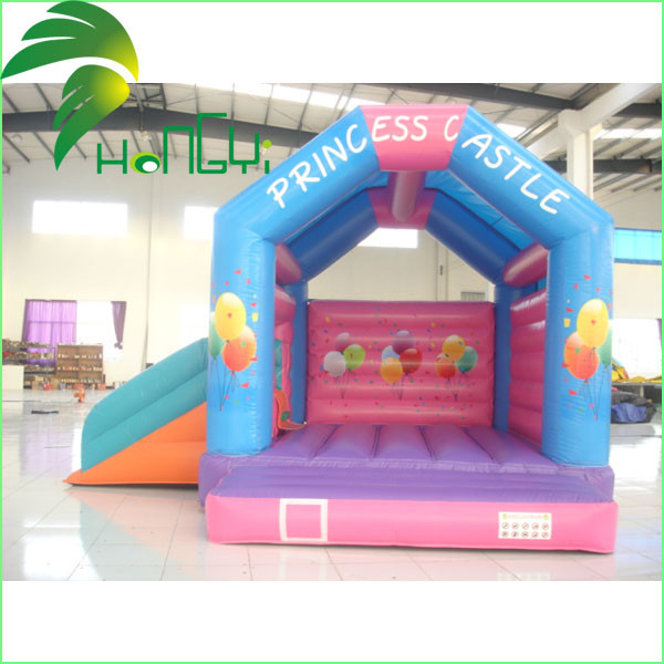 Small Indoor Inflatable Bouncer With Slides1.jpg