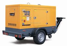 2015 low noise level Doosan 50hz portable generator