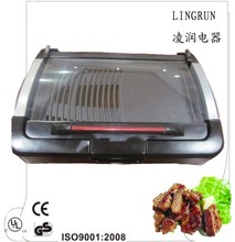 Table-top grill electric prices with Glass lid cover electric chicken grill electric flat grill