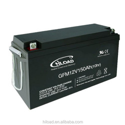 Lead Acid Battery 12V 150ah Deep Cycle battery