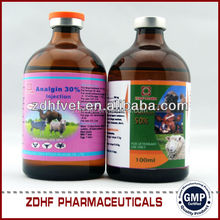 Agrovet animal fever medicine analgin injectable for sheep farming