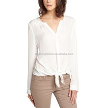 CHEFON Long sleeve office modern blouses for lady manufacturer