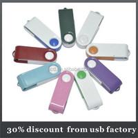 slim bulk 16GB mini rotating usb flash drive