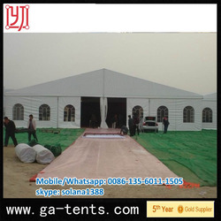 6x6 Guangzhou top roof Impressive waterproof Opaque fabric camping lawn tent for summer comfort beach