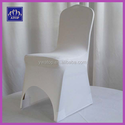 Cheap White Stretch Lycra Spandex Chair Cover For Wedding
