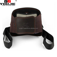 tourmaline magnetic self-heating brown back waist support