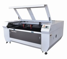 CO2 laser engraving and cutting machine 2 head Automatic feeding