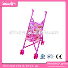 juegos de bebé , el juguete educativo para los niños del cabrito muñeca cochecito cochecito de plástico