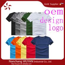 custom blank 100% cotton t shirts/bulk blank t shirts/bulk plain white t shirts