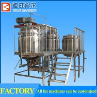 tomato paste processing plant, tomato paste manufacturing equipment, tomato paste emulsifying machine