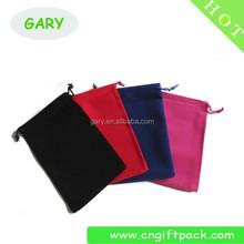 2015 fashion velvet drawstring bag manufacture