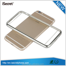 2015 New full protective slim clear TPU back cover for iphone 6 case