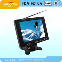 "7"" mini isdb-t portable digital tv"
