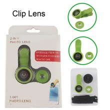 Top quality new design 3 in 1 fish eye lens fit