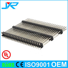 custom connector with triple plastic elevated SMT male pin header 2.54mm pitch with OEM ODM service