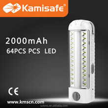 2015 Hot sale and Newest Style LED rechargeable emergency light