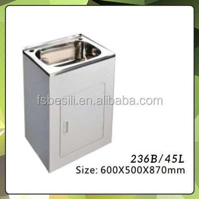 Stainless Steel Sink Counter Combo : ... Sink Cabinet Combo,Laundry Sink Cabinet Combo,Stainless Steel Laundry