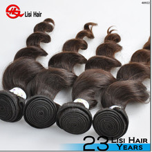 2015 Best Sale Large In Stock Human Hair Leading Manufacture raw hair weft