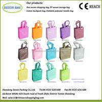 wholesale polypropylen promotional non woven bags