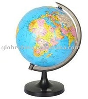 8.4 inches or 21.4cm in school of globe map