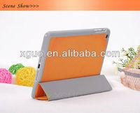 Three fold ultrathin stand for ipad mini case cover