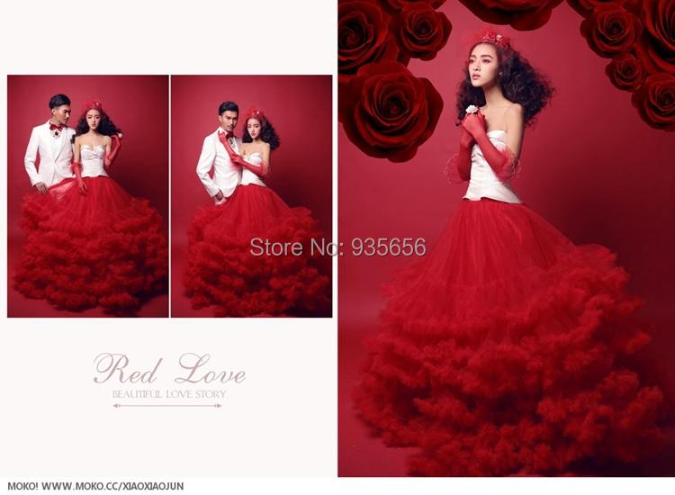 Buy red carpet princess romantic fantasy girls wedding dress