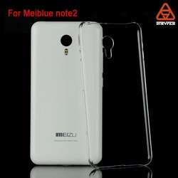 Guangzhou biaoxin crystal case for meiblue note 2 cover ,plastic phone case for meiblue mote 2