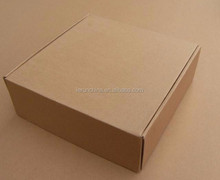 China manufacture recycled printed brown kraft paper box