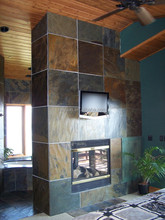 Top quality rusty slate wall stone finishes