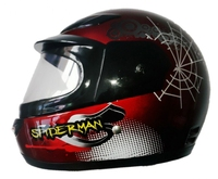 kids full face Motorcycle helmet with CE approved, ABS shell, for saftey protection
